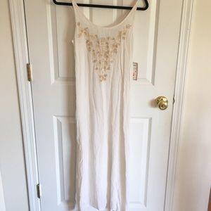 Raya Sun Beach Cotton Maxi Dress